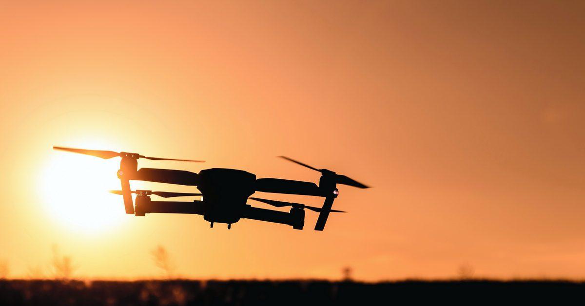Autonomous drones during COVID-19