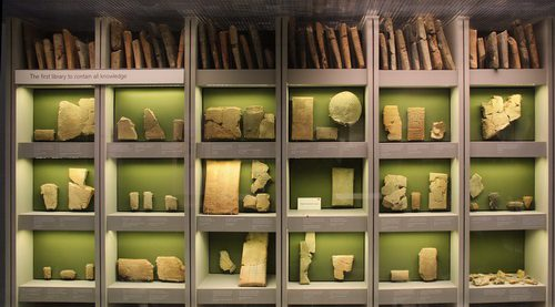 Library of Ashurbanipal.Source: Gary Todd.