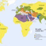 World map (2,000 BC)