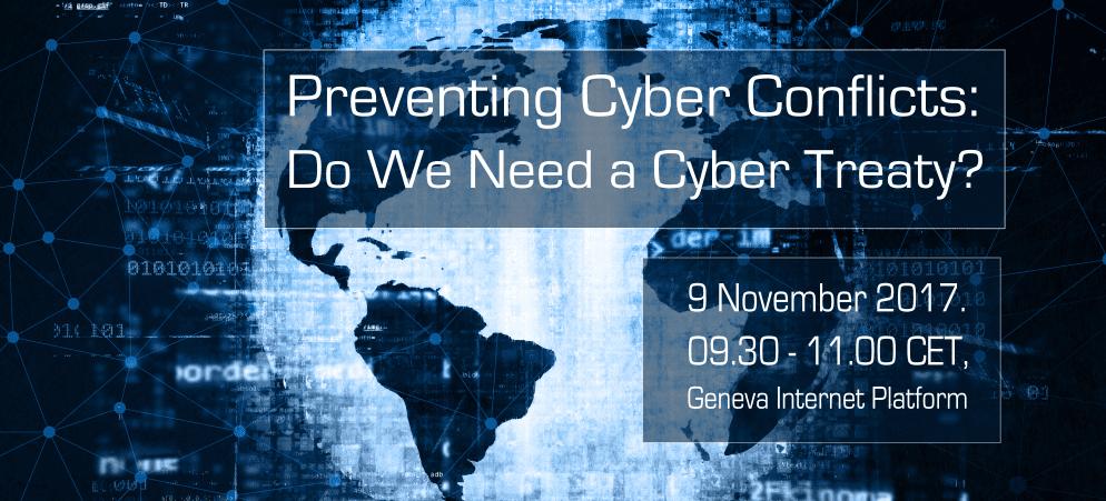 Preventing cyber conflicts Geneva Digital Talk