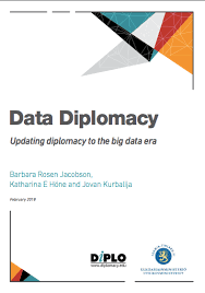 Cover page of the report on Data diplomacy