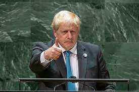 Boris Johnson is addressing UN General Assembly in New York (September 20210